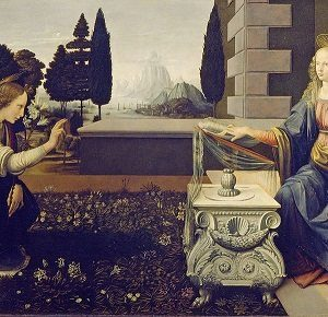 Women in Art depicted by Annunciation