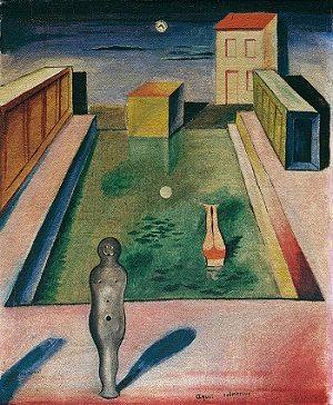 Aquis Submersus by Max Ernst