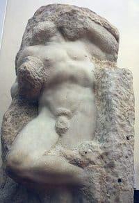 Awakening Slave by Michelangelo