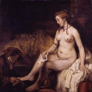 Bathsheba at Her Bath by Rembrandt