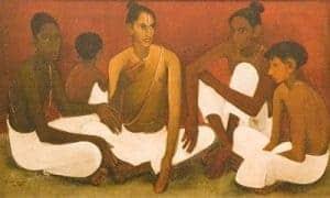 Brahmacharis by Amrita Sher-Gil