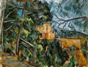 Château Noir by Paul Cezanne