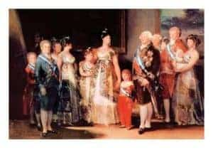 Charles IV of Spain and His Family by Fransesco Goya