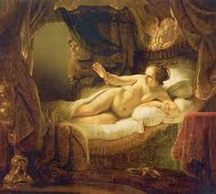 Danae by Rembrandt