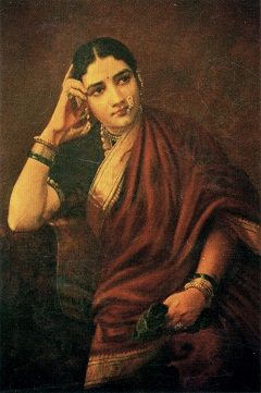 Expectation by Raja Ravi Varma