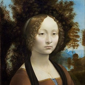 Women in Art depicted by Ginevra de' Benci