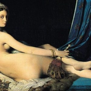 Women in Art depicted by Grande Odalisque