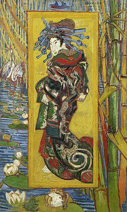 Japanesery by Vincent van Gogh