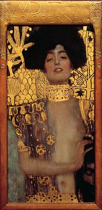 Judith and the Head of Holofernes by Gustav Klmit