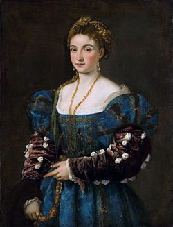 La Bella by Titian