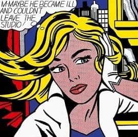 M-Maybe by Roy Lichtenstein