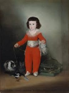 Manuel Osorio Manrique de Zúñiga by Fransesco Goya
