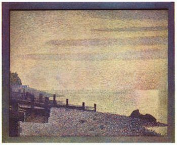 Mouth of the Seine at Honfleur, evening