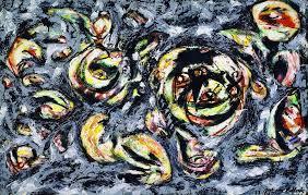 Ocean Greyness by Jackson Pollock