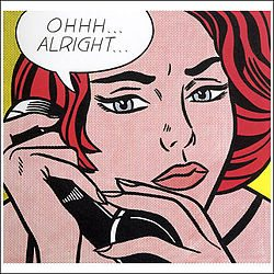 Ohhh...Alright... by Roy Lichtenstein