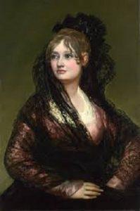 Portrait of Doña Isabel de Porcel by Fransesco Goya
