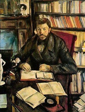 Portrait of Gustave Geffroy by Paul Cezanne