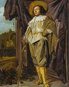 Standing Cavalier by Judith Leyster