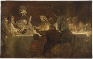 The Conspiracy of Claudius Civilis by Rembrandt