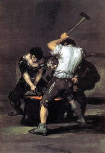 The Forge by Fransesco Goya