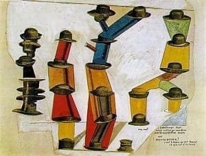 The Hat Makes the Man by Max Ernst