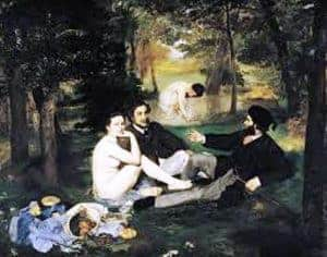 The Luncheon on the Grass by Édouard Manet