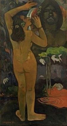 The Moon and the Earth by Paul Gauguin