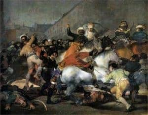 The Second of May 1808 by Fransesco Goya