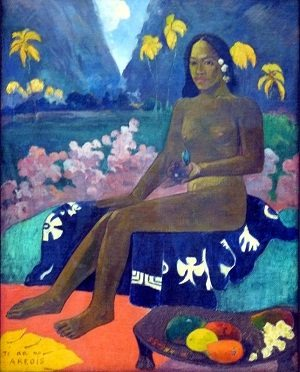 The Seed of the Areoi by Paul Gauguin