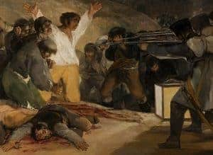 The Third of May 1808 by Fransesco Goya