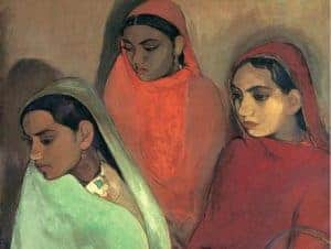 10 Most Famous Amrita Sher-Gil Paintings By The Artist Journal