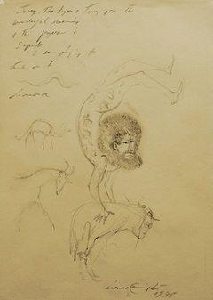 Untitled, 1978 by Leonora Carrington