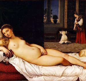 Women in Art depicted by Venus of Urbino