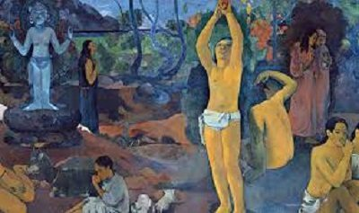 Where Do We Come From What Are We Where Are We Going by Paul Cezanne