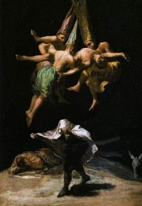 Witches' Flight by Fransesco Goya
