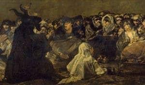 Witches' Sabbath by Fransesco Goya